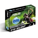 Asus GeForce GT 210 Silent GDDR3 Low Profile Compatible Passive Cooling Graphics Card - 1GB